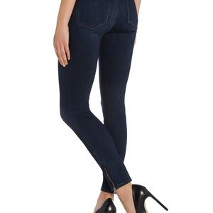 Paige skinny jeans with zippered ankles